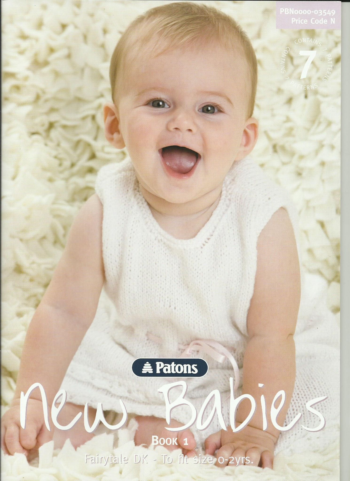 f740f54c777 Patons New Babies Book 1