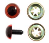 Trimits Toy Safety Eyes Amber 21mm 2 pack